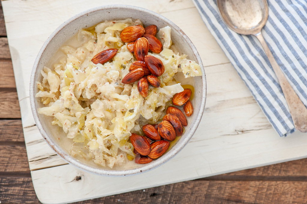 Creamy Cabbage & Almond Soup-2