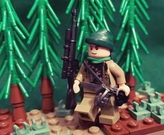 British Sniper, France, 1944