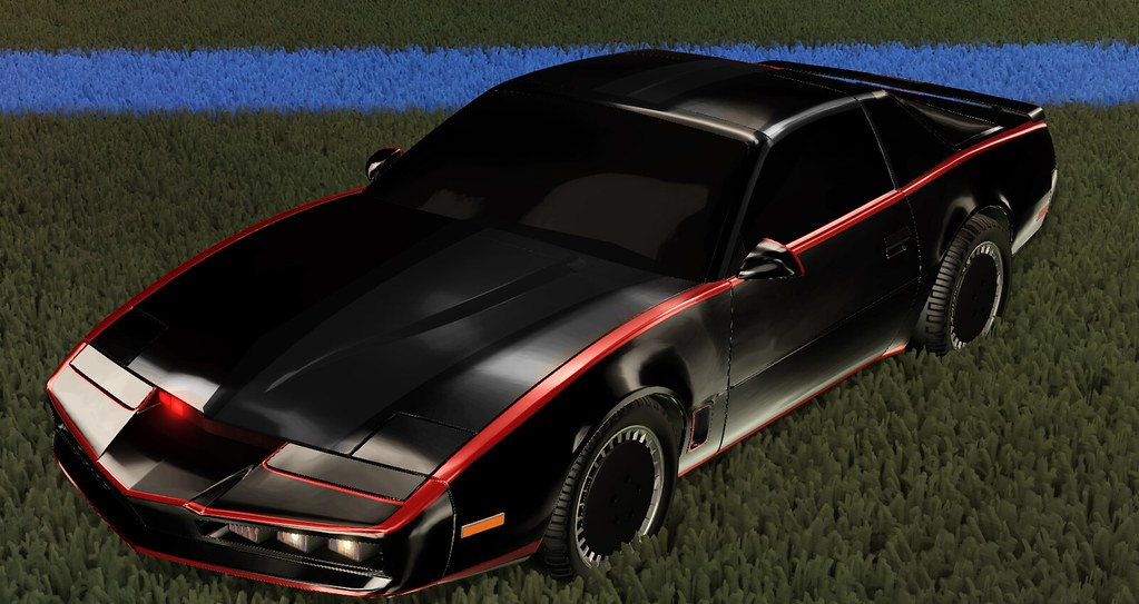 Rocket League - Knight Rider (early version)