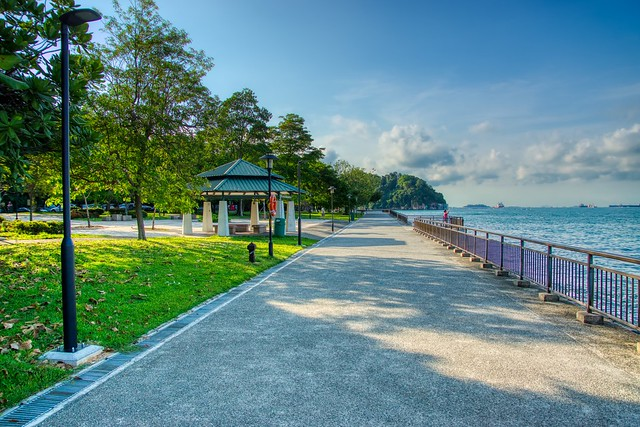 Promenade at Labrador Nature Reserve in Singapore