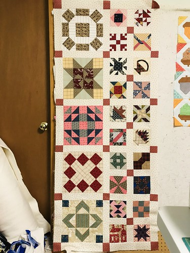 Cheddarback Quilt: July