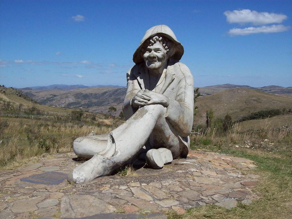 Estátua do Juquinha - Serra do Cipó (MG)