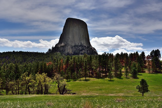 There's No Better Way to Start a Hike then a View to Devils Tower (Bear Lodge)!