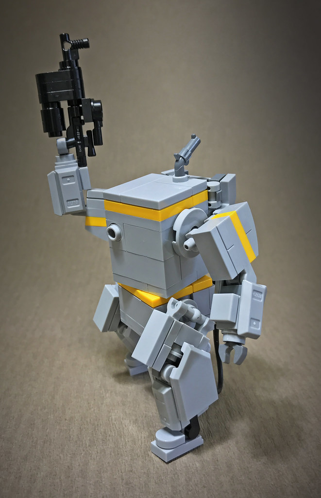 BoxBot (custom built Lego model)