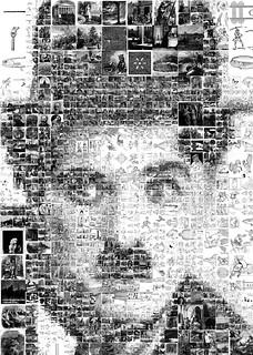 Charlie Chaplin Mosaic