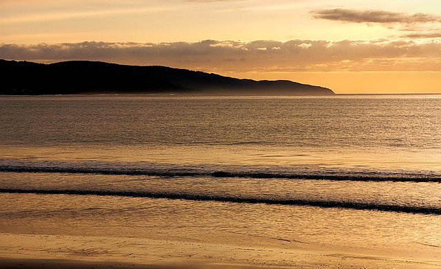 Dawn Apollo Bay Australia.