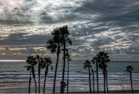 Sunset Clouds Oceanside California Canon50D