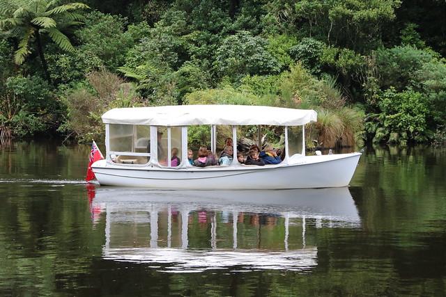 Boat in the bush