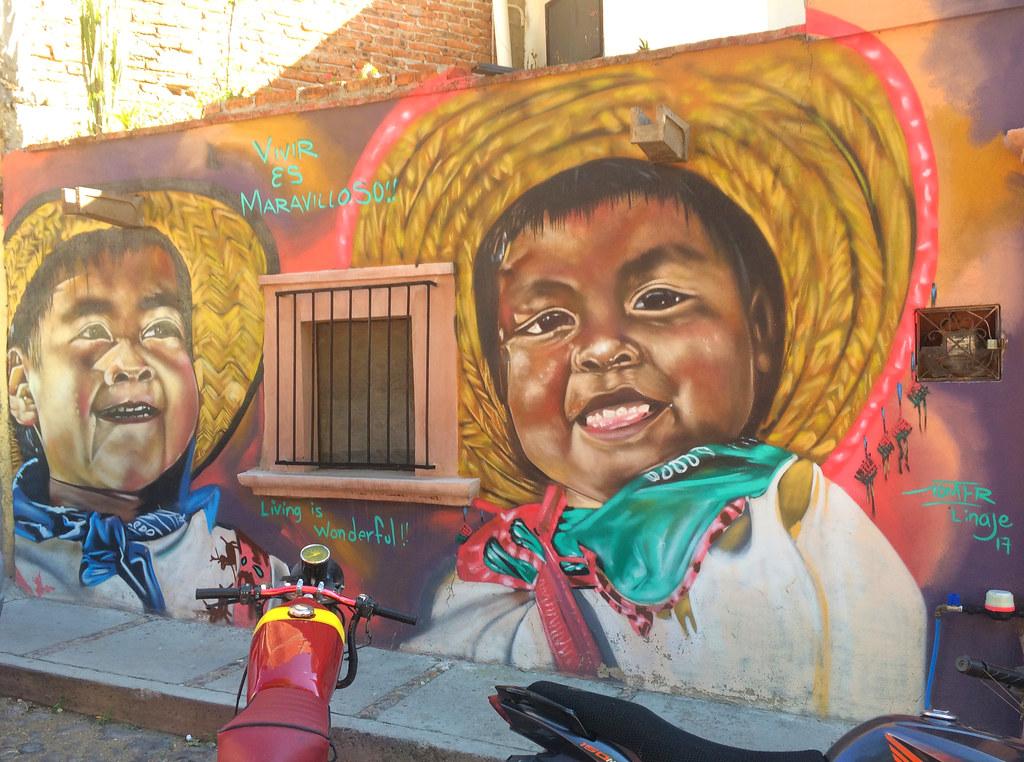 """""""Vivir Es Maravilloso !"""" (Living Is Wonderful !) - San Miguel de Allende, Mexico"""