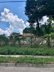 Remains of the Mary A. Wolfe House, North Avondale, Cincinnati, OH