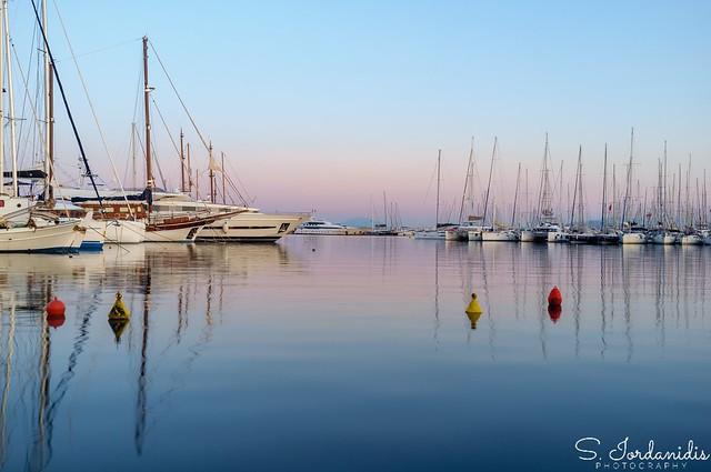 Reflections at the Marina, Alimos-Greece