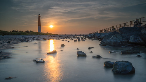 long beach island new jersey light house sunset travel photography landscape sony a7r3