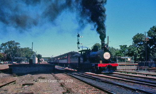 Steam train to Semaphore