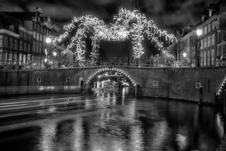 Magic night in Amsterdam