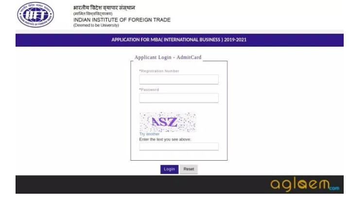 IIFT Admit Card 2020-21