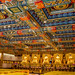 Five Golden Buddhas in Pow Lin Temple - Lentau / Hong Kong