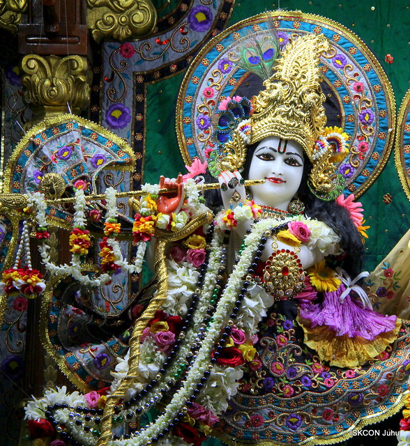 ISKCON Juhu Sringar Deity Darshan on 20th July 2019