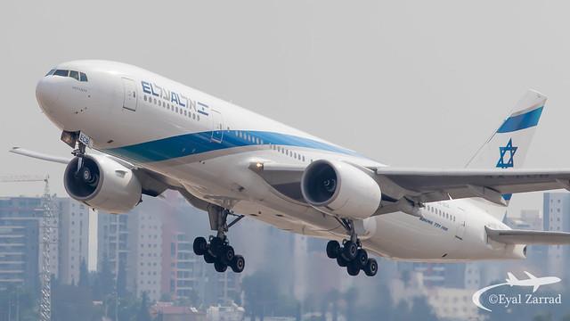TLV - El Al Boeing 777-200 4X-ECB