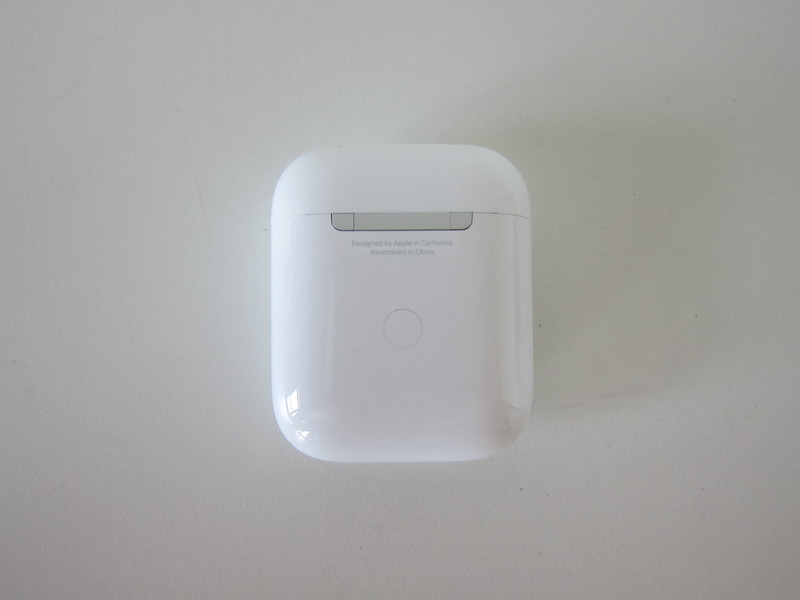 Apple AirPods (2019) With Wireless Charging Case - Back