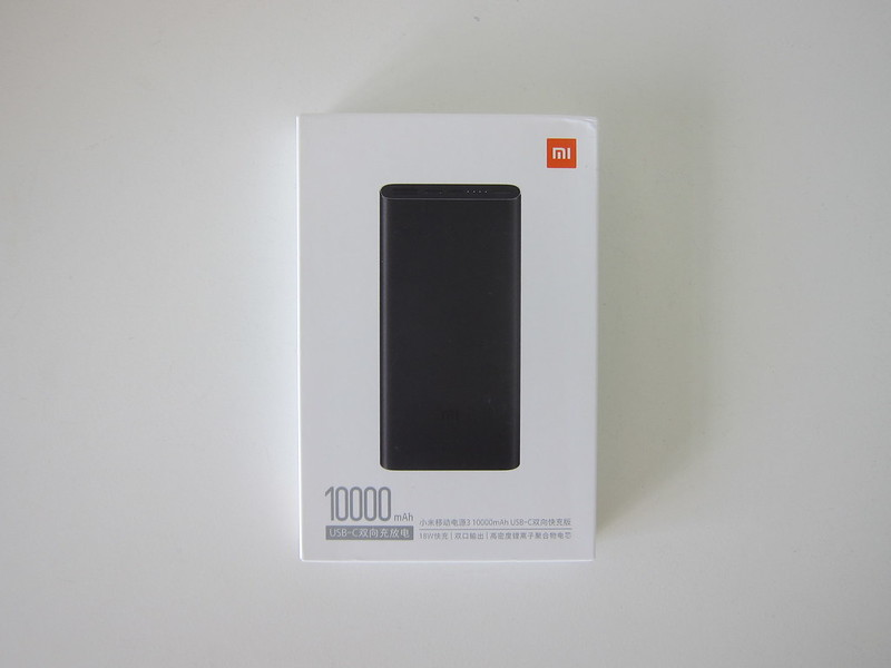 Xiaomi Mi 10,000mAh Power Bank (3rd Generation) - Box Front
