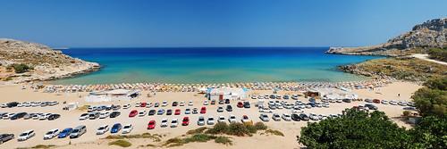 Golden Sand beach panorama