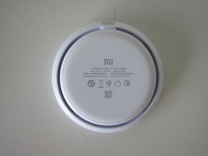 Xiaomi 20W Wireless Charger Set - 20W Wireless Charger - Bottom