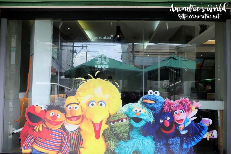Serenitea x Sesame Street
