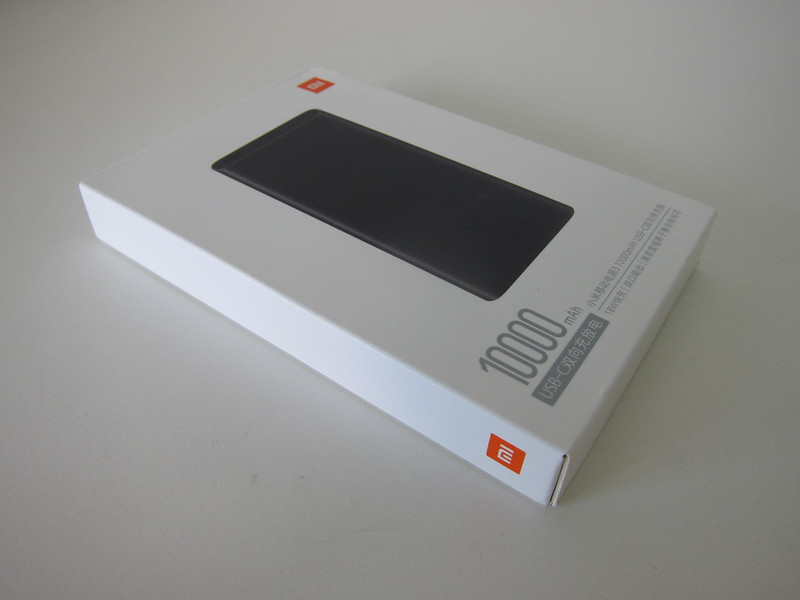 Xiaomi Mi 10,000mAh Power Bank (3rd Generation) - Box