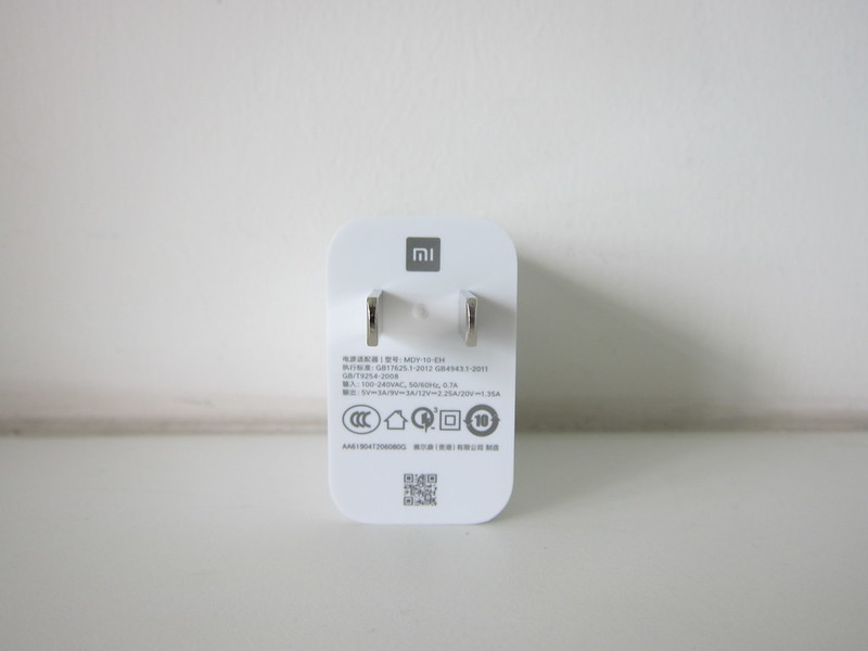 Xiaomi 20W Wireless Charger Set - 27W Charger - Back