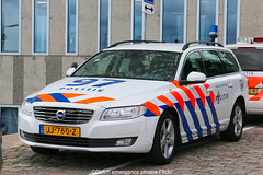 Dutch police Volvo V70 LE