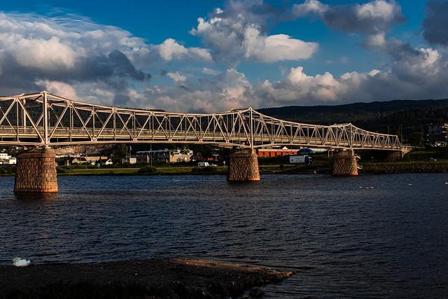 Bridge from 1912, stretching 220meters. Norway