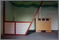 deserted interior