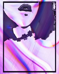 Innere Dämonen // #glitch #glitchart #digitalart #vaporwave #rmxbyd