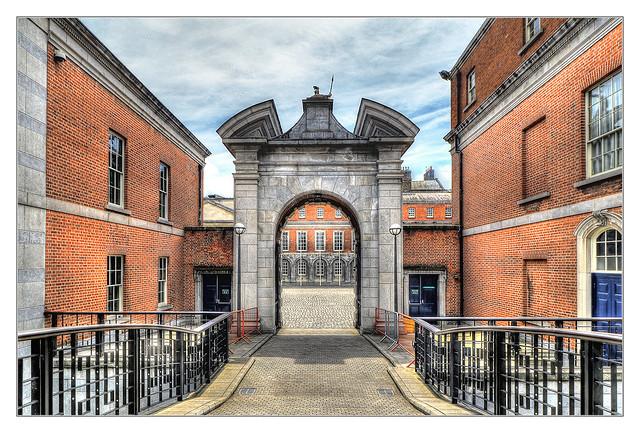 Dublin IR - Dublin Castle 01