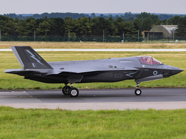 Royal Air Force | Lockheed Martin F-35B Lightning II | ZM149