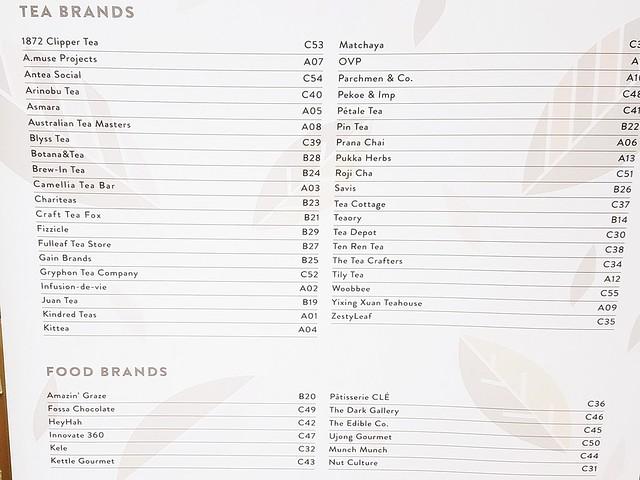 Brands Represented