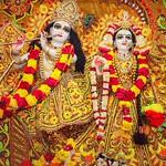 ISKCON Ahmedabad Deity Darshan 20 July 2019