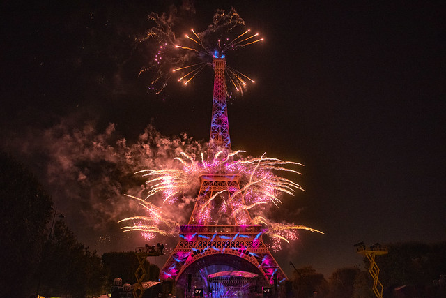 This is the greatest show...! Feu d'artifice Tour Eiffel 14 juillet 2019 Fête nationale Paris . No. 44.