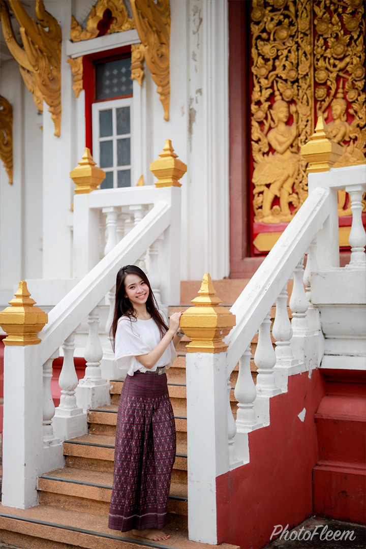 ภาพถ่ายโทนคลีนวัดไทย แต่งด้วย Lightroom มือถือ