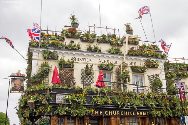 The Churchill Arms cosa fare a Londra