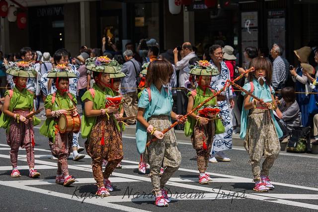 The 2019 Saki Matsuri, First Part of Gion Festival in Kyoto-Japan.