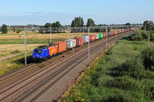 różyny es64f4 pcc intermodal freight