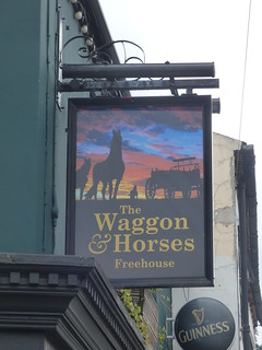 The Waggon & Horses Freehouse - Worcester Street, Stourbridge - Pub sign