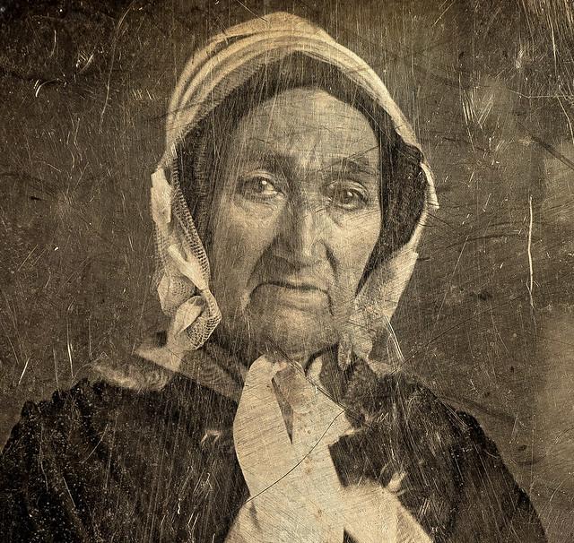 Detail of Daguerreotype 1840-1860