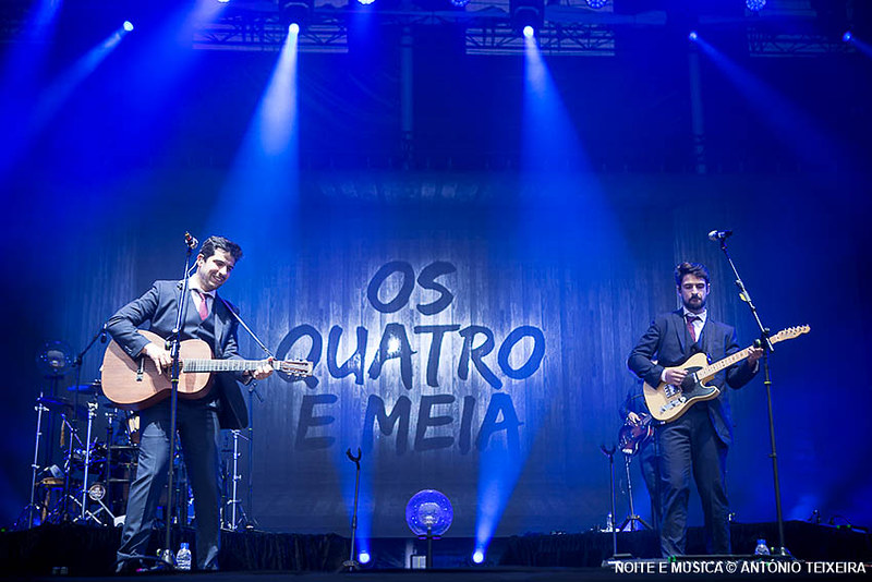 Os Quatro e Meia - MEO Marés Vivas 2019
