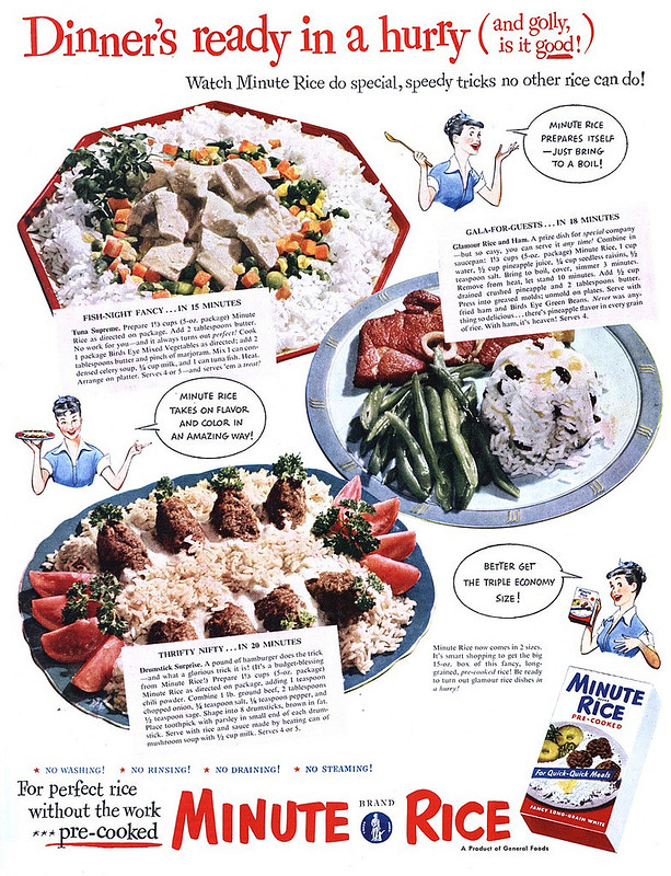 Minute Rice 1951