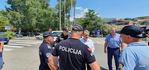 Mevludin Nuhodžić - Igalo - zajednička patrola policije CG, Hr i Srb