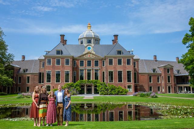 Fotomoment Nederlands Koninklijk Gezin - Zomer 2019