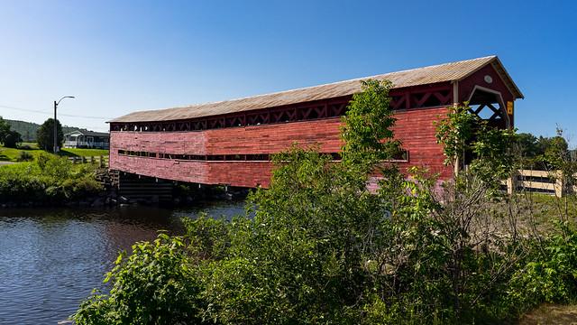 Heppell's Bridge (1909), Causapscal, Matapedia Valley, Quebec, Canada