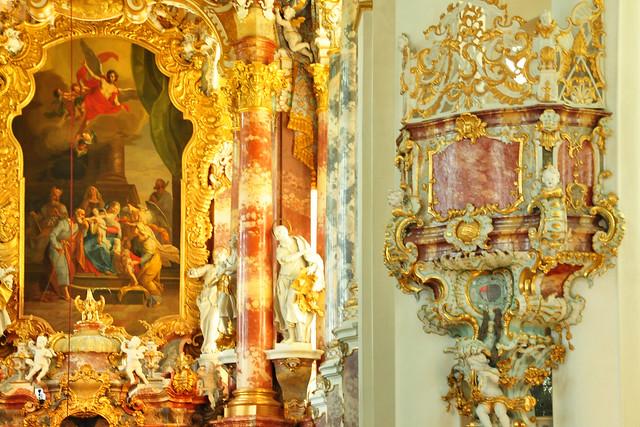Juli 2019 ... Die Wieskirche im oberbayerischen Pfaffenwinkel ... Fotos: Brigitte Stolle